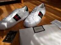 Brand new gucci shoes available with the receipt in size 8