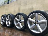 "Set of 4 AUDI A4 B8 S-Line 18"" ALLOY WHEELS For Sale"