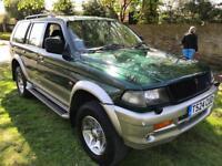 1999 Mitsubishi Challenger V6 Petrol Manual 53k Miles 1 yr Mot £795 no offers