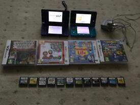 Nintendo DSi & 3DS with games - nearly new condition