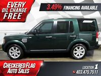 2011 Land Rover LR4 W/ Triple Sunroof-Heated Leather-4X4