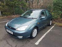 Ford Focus 1.6 petrol ,GHIA, auto. First reg. Date: 01/03/2002