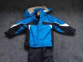 Trespass Ski Jacket & Salopettes Age 5-6 Excellent Condition