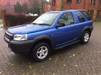 Landrover Freelander 4x4 MOT NOVEMBER 2017