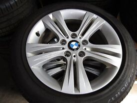 """CHOICE OF GENUINE BMW 17"""" & 18"""" ALLOYS WITH AND WITH OUT TYRES"""