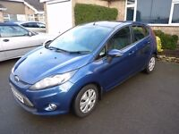 Ford Fiesta Econetic 2009, Diesel, 80,000 Miles, Extremely Economical, Good Condition, £0 Tax
