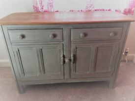 Ercol shabby chic sideboard