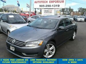 2013 Volkswagen Passat 2.5L Comfortline Leather/Alloys/Sunroof &