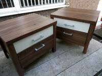 Bedside cabinets drawers
