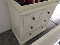 Mamas and Papas chest of drawers with changer on top