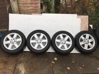"""4 x 19"""" Range Rover/ VW T5 Alloys + tyres"""