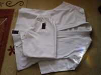 Karate Gi 's medium size 170 on labels,also club fleeceG-K-R mitts and pads