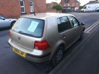 Volkswagen Golf SE 1.6 2002 - Petrol - 130k miles - 2 owners from new