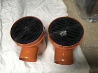 Drain gulleys and connectors
