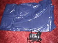 double inflatable mattress with electric pump