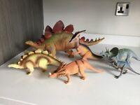 Set of 6 dinosaurs