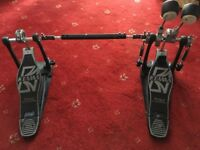 Tama Iron Cobra Double Bass Drum Pedal and Hard Case