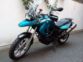 BMW F 650 GS 800cc (2009) Very good condition .