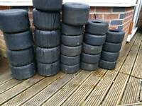 Mojo d1 go cart tyres
