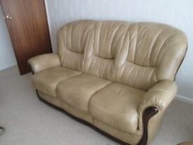 Settee and recliner chair for sale