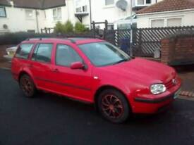 Golf estate diesel cheap car
