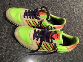 ADIDAS IN LEATHER AS NEW SIZE 8 ONLY £20!!!