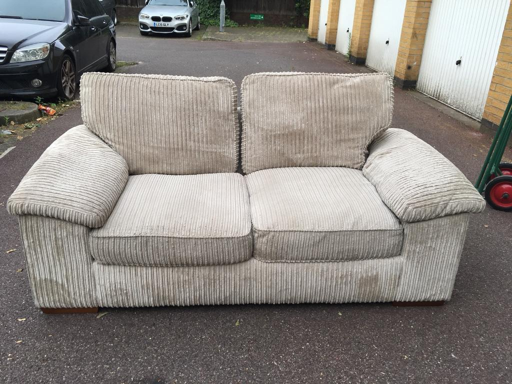 Cream Sofa Bed Free London Delivery In Clapham Junction