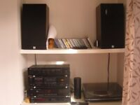 DENON Stereo System with KEF Speakers and Dual turntable