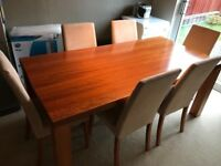 Bo Concept dining room table and chairs