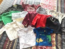 Huge *65* items used baby boy 3-6 months clothing bundle