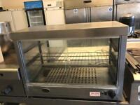 Commercial pie warmer heated display unit