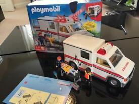 Playmobil ambulance BOXED with lights & sound