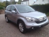 HONDA CR-V EX I-CTDI - leather, pan am roof,sat nav,109000 miles, excellent condition.