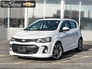 2017 CHEVROLET SONIC ***SUNROOF AND HEATED SEATS!!!***