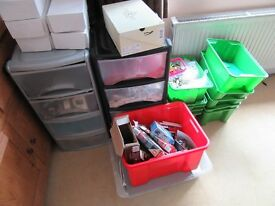 Large Job lot of Lego of over 36kg, mostly colour coded with storage containers