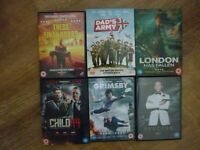 6 latest dvds