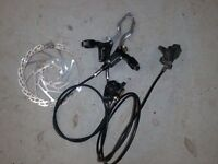 Hope Mono Hydraulic Disc Brake Set
