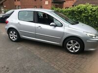 Peugeot 1.6hdi sliver vosa warranted millage. ****spares or repaires****