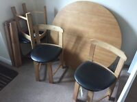 BRAND NEW Argos table and 4 chairs