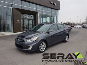 2013 Hyundai Accent GLS, mags, toit ouvrant, 1 proprio