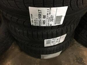 215/55/17 Michelin X-Ice XI2 *Winter Tires*