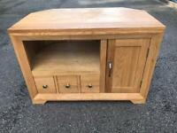 Solid oak tv stand oak furniture land possible delivery