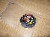 Sony Playstation 3 / PS3 Minecraft Game - Disc Only - Great Condition