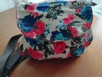 "FLORAL PRINTED HANDBAG FROM ""ANIMAL"" V GOOD CONDITION"