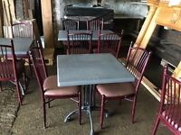Bargain tables and chairs to clear