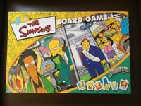 The Simpsons Board Game Springfield USA