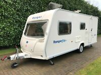 Bailey Ranger Series 6 510/4 2007 4 Berth with Side Dinette and End Washroom
