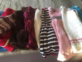 Bundle of quality girls winter clothes 3 years old