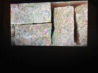 Patio granite stone sets