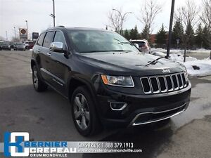 2016 Jeep Grand Cherokee Limited **GPS, TOIT OUVRANT, ECRAN 8.4'